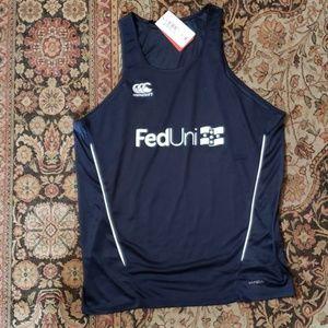 Canterbury Shirts - Canterbury Fed Uni Vapdri rugby training tank 2X